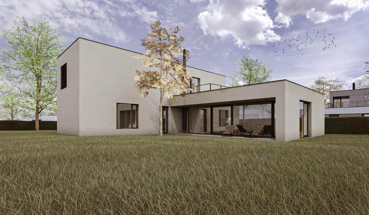 Pozemek 5 - Dům A2