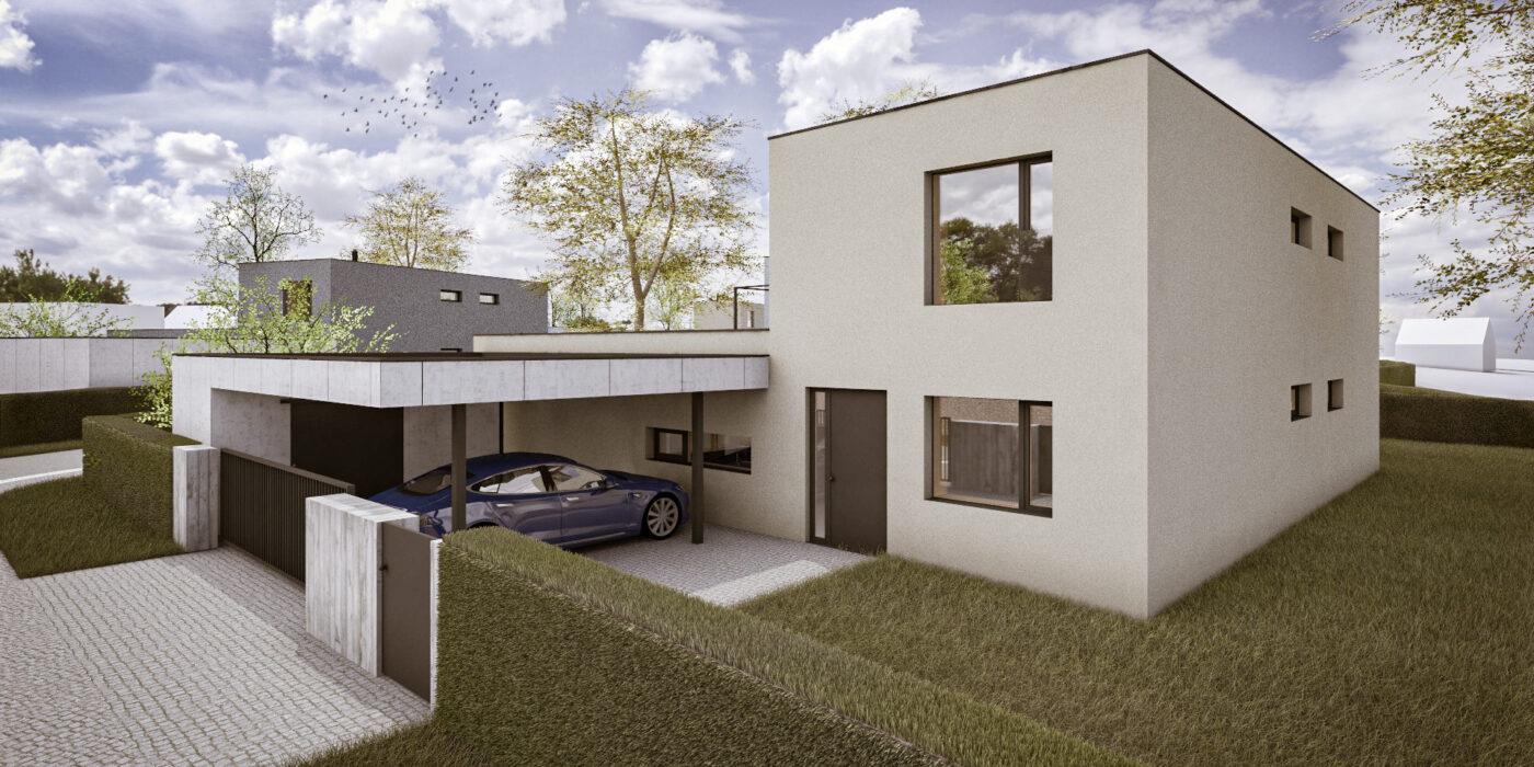 Pozemek 1 - Dům A1L