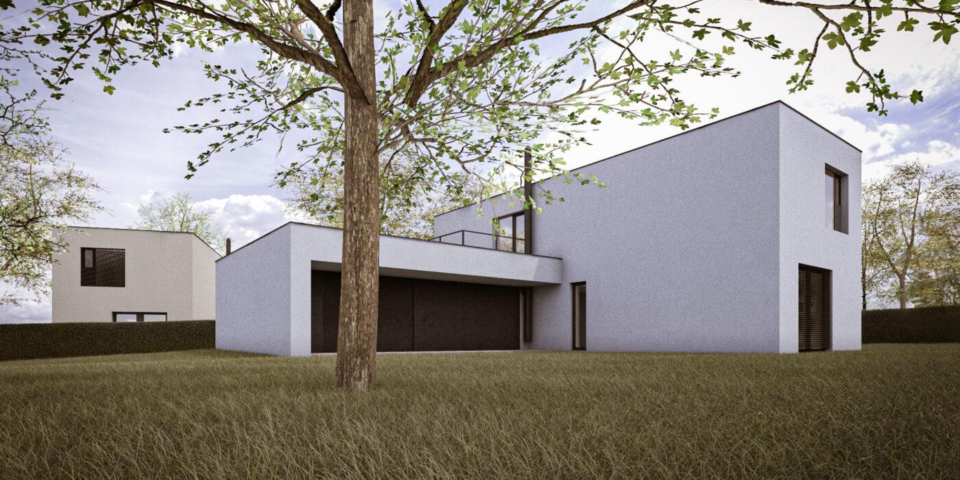 Pozemek 2 - Dům A1P