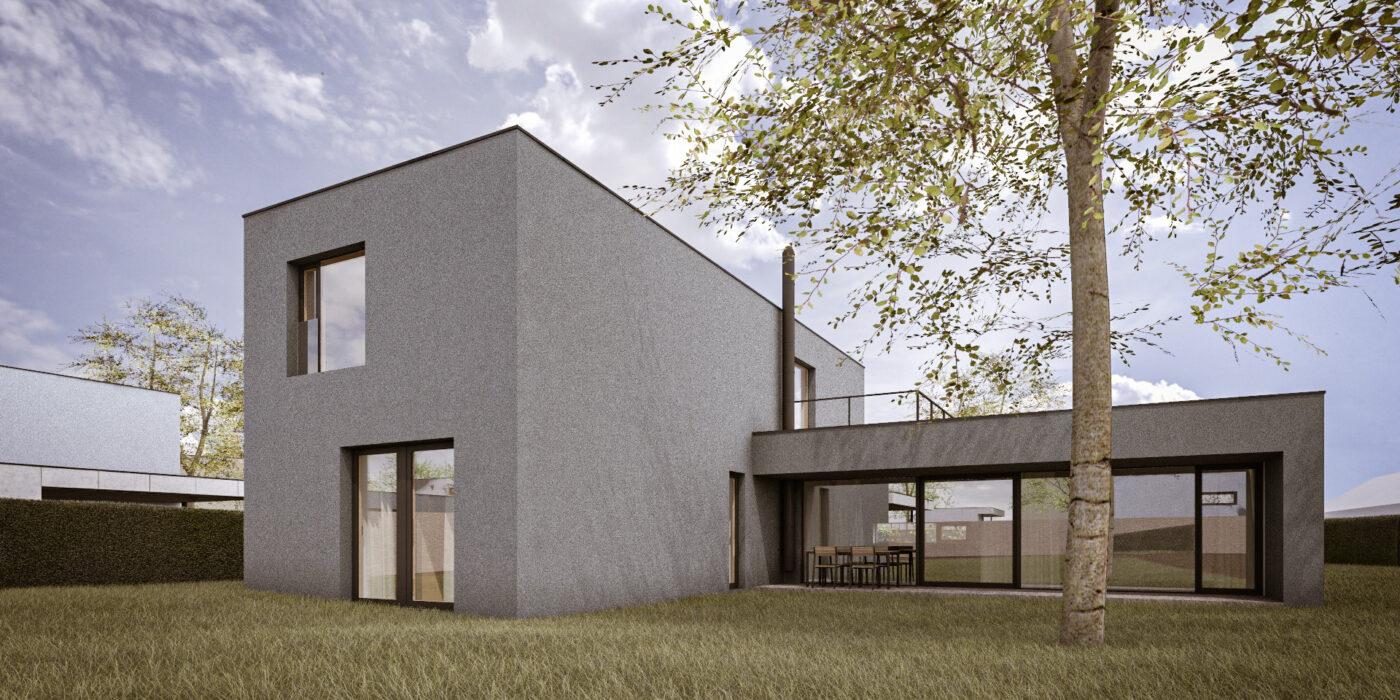Pozemek 7 - Dům A1L